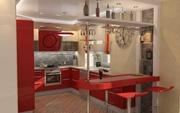 Кухня из высококачественного пластика под заказ