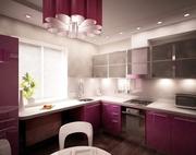 Кухни под окно-экономим пространство!