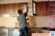 Сборка и установка кухонной мебели